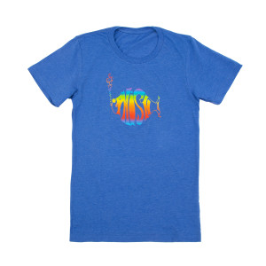 Classic Rainbow Logo Heather T-Shirt