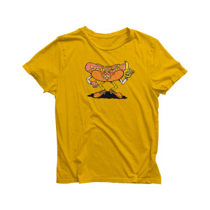 Kid's Hot Dogger Boston T on Gold