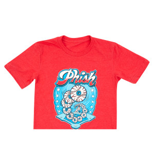 Good Eye Pitcher T-Shirt on Heather Red