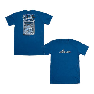 Fall Tour 2019 Pollock T on Blue