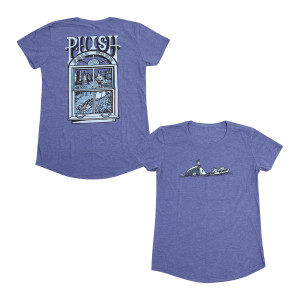 Fall Tour Women's Pollock T o Purple