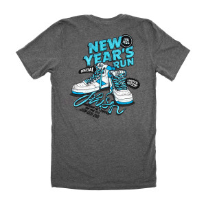 Sneaky NYE 2019 Tee on Tri-blend Grey