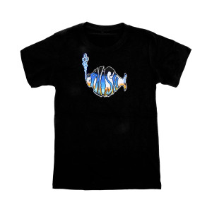 Youth 8-Bit Alien Invasion NYE 2019 Tee on Navy