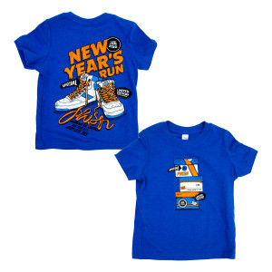 Toddler Sneaky NYE 2019 Tee on Royal