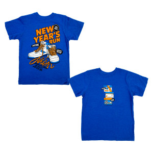 Youth Sneaky NYE 2019 Tee on Royal