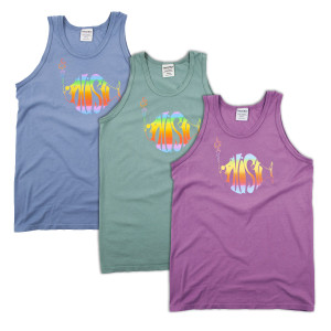 Classic Rainbow Pigment Dyed Tank Top