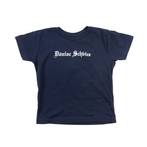 Kids Doniac Schvice Tee on Navy