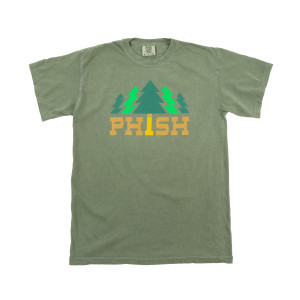 Timber Heavyweight Tee on Hemp Green