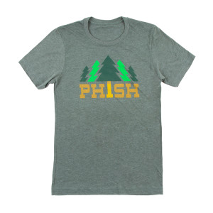 Timber Tee on Heather Forest