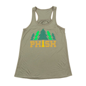 Women's Timber Tank Top on Heather Forest