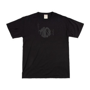 Classic Stealth Puff Heavyweight Tee on Black