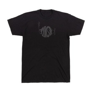 Classic Stealth Puff Tee on Black