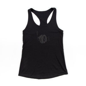 Women's Classic Stealth Puff Tee on Black