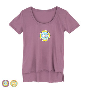 Women's Lotus Scoop Tee