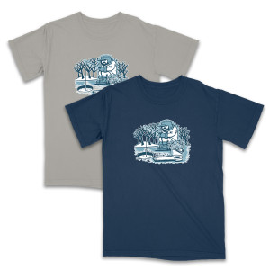 Pollock Ice Fisherman Tee