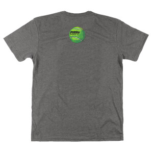 Tennis Volley Summer 2021 Tour Tee on Triblend Grey
