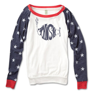 Women's One Nation Slouchy Pullover