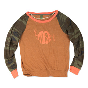 Women's Camo Slouchy Pullover