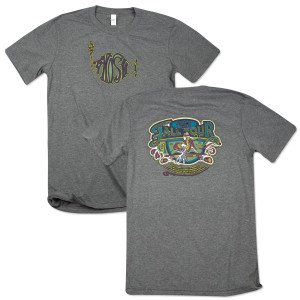 West Coast Skate Fall Tour T on Tri-Blend Gray