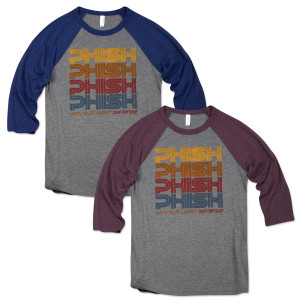 Way Out West Fall Tour Baseball T
