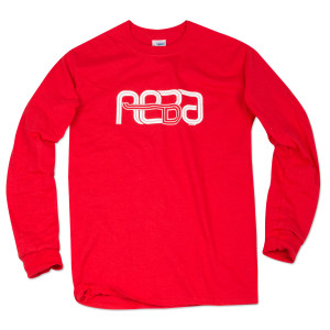 Reba Longsleeve on Red