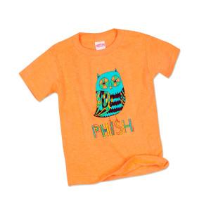 Kids Owl T on Orange