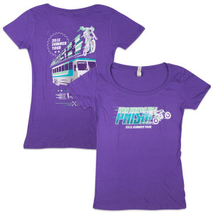 Women's Stunts 2015 Summer Tour 2015 T on  Grape