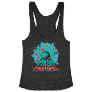 Womens The Rounds Magnaball Event Tank on Onyx