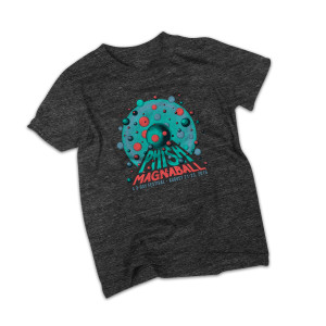 Kid's The Rounds Magnaball Event T-shirt on Tri-Black