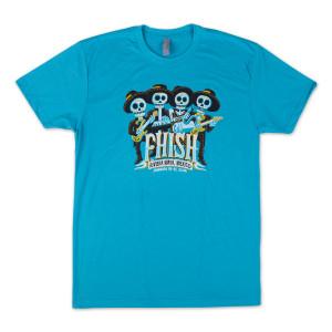 Dia De Los Muertos t-shirt on Teal