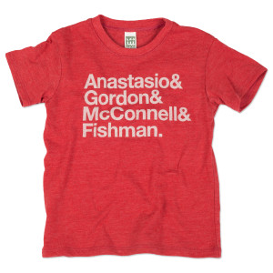 Infant/Toddler Nomenclature T on Eco Red