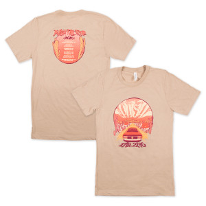 Fall Tour 2016 Desert-Bahn T-shirt