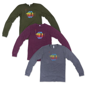 Classic Rainbow Logo Long Sleeve T-shirt