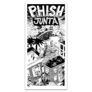 Original Junta Limited Edition Poster by Jim Pollock