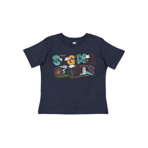 Toddler Sigma Oasis Tee on Vintage Navy
