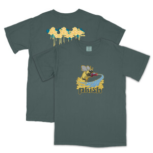 Summer 2003 Bee Tee on Heavy Spruce Green