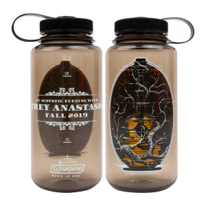 Glitch Guitar Nalgene Bottle - Woodsman
