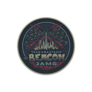 Trey Anastasio The Beacon Jams Woven Patch 3""
