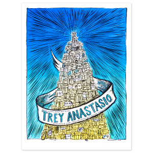 Trey Anastasio Mayo Performing Arts Center, Morristown LE Poster