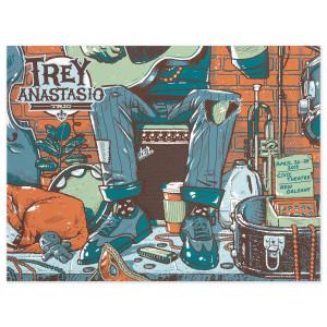 Trey Anastasio Trio Jazz Fest, New Orleans LE Poster