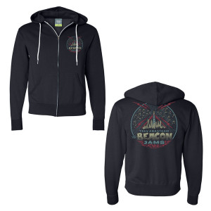 Trey Anastasio The Beacon Jams Hoodie on Navy