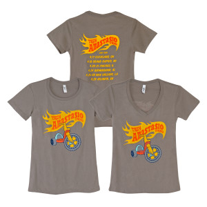 Trey Anastasio Trio Womens Big Wheel Tour T