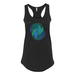 Ghosts of the Forest Women's Racerback Tank Top