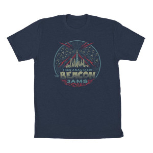 Trey Anastasio The Beacon Jams Standard T on Midnight Navy
