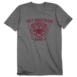 Trey Anastasio Band Tiger on Tri-Blend Gray