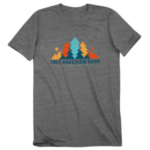 Trey Anastasio Band In The Pines Tour T on Tri-Blend Grey
