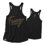 Fuego T-shirt or Tank on Charcoal