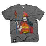Vlad The Impaler T-Shirt or Tank on Gray