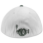 3-D Side Logo Flatbrim Hat on Spruce