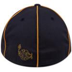 Follow The Lines Flatbrim Hat on Dark Navy